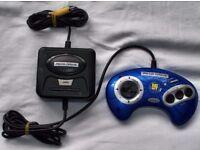 Sega megadrive emulator with 6 built in games