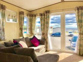 2 BEDROOM STATIC CARAVAN FOR SALE , NORTH EAST COAST , SEA VIEWS , PET FRIENDLY