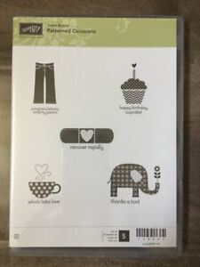 Retired Assorted Stampin' Up Sale-a-bration Clear Stamp Sets