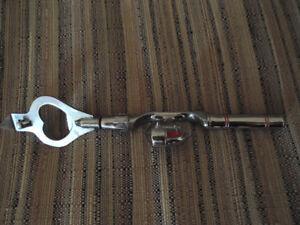 Fishing Pole Can Opener/Bottle Opener