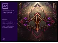 Adobe After Effects CC 2017 Lifetime Activation Windows or Mac full version