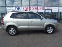 2009 09 HYUNDAI TUCSON 2.0 STYLE CRDI 5D 148 BHP**** GUARANTEED FINANCE **** PART EX WELCOME ****