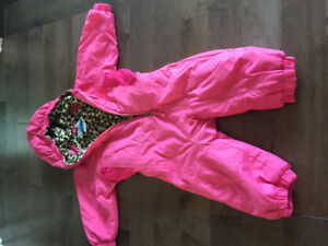 Girls Columbia snowsuit size 18 months