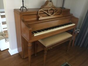Upright George Steck piano for sale **great condition**