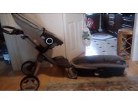 Stokke full set buggy in very good condition