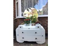 """""""Art Deco"""" DRESSING TABLE FREE DELIVERY LDN🇬🇧SHABBY chic chest"""