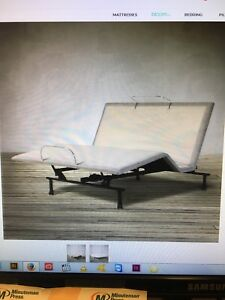 Simmons Dreamscapes orthopedic adjustable bed - double
