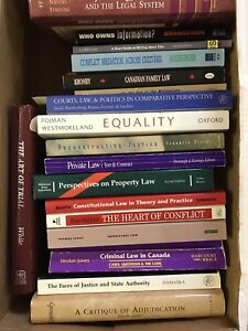LAW BOOKS FOR SALE!