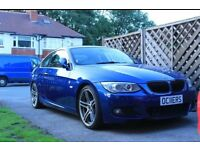 BMW 335d M Sport Coupe, CARBON interior, carbon M4 Spoiler, leather, nav, cruise