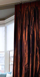 Custom quality drapery panels (4)