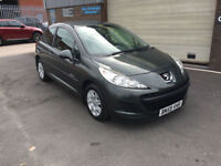 2009 59 PEUGEOT 207 S 1.4 PETROL,MANUAL,84000 MILES WITH FULL SERVICE HISTORY..