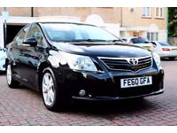 TOYOTA AVENSIS 1.8 V-MATIC TR AUTOMATIC 4 DR SALOON SATNAV FSH HPI CLEAR EXCELLENT CONDITION