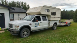 2008 f350 diesel and camper