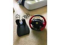 Xbox One Thrustmasters Racing Wheel