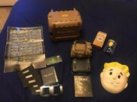 (Like new) Fallout 4 - Pipboy Collectors Edition with BONUS Day #1 items (PS4)