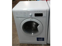 N585 white indesit 7kg&5kg 1400spin washer dryer comes with warranty can be delivered or collected