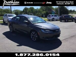 2016 Chrysler 200 S   LEATHER   HEATED SEATS   REAR CAMERA  