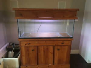 70gallon fish tank and stand