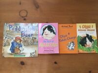 Four Michael Bond books