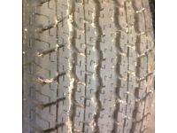 Bridgestone dueler H/T 840 245/65R17 tyres new x4