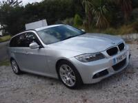 2010 10 PLATE BMW 318 2.0d M Sport Touring Estate in Silver