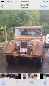 1952 LandRover series1 for sale