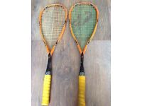 2 X Climax X-Rated Pro Squash Rackets