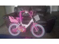 """Lovely girl's 14"""" Disney Princess bike"""