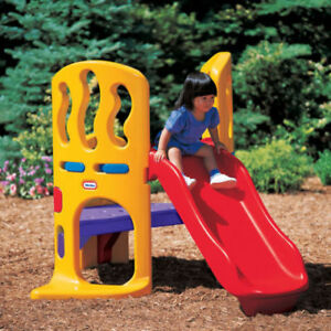 Hide and Slide climber for toddlers