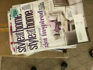 Magazines can be donated to hospital reception etc.