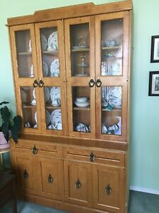 China cabinet - solid wood