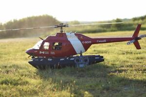 BCP D HÉLICO (5)NITRO BNF, 1 DRONE WALKERA TALI H500 RTF