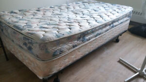 Urgent Sale : Good Condition Twin Bed set