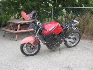 1988 kawasaki zx-7 ninja parts bike