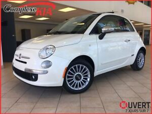 2013 Fiat 500 Lounge AUTO CUIR TOIT BLUETOOTH S.CHAUFFANT