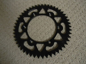 BRAND NEW  WARP 9 ALUMINUM 49 TOOTH REAR SPROCKET FITS