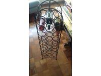 Steel Wine Rack 31 bottle capacity