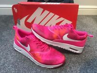 BRAND NEW NIKE Air Max Thea pink pow white print size 8 UK