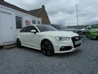 2013 (13) Audi A3 S Line Sport Back 2.0 TDI ( 150 bhp )