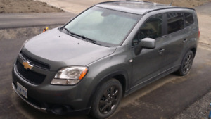 7 seats Chevy Orlando utility vehicle for sale, in fine c