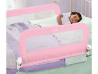Summer double pink bed guard - excellent condition