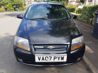 (07) CHEVROLET KALOS SX, 5 DOOR, 1.4CC, MOT AUGUST 2018