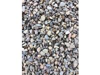 Garden/driveway stones,chips. FROM £48 per ton bag