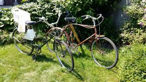 2 Vélos antique CCM des années 1980