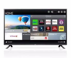 "Like New LG - 50LF580V Smart 50"" LED TV"