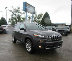 2016 Jeep Cherokee LTD 4X4 w/ SAFETY, TECH, TOW ACTIVE DRIVE II