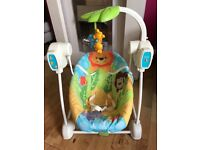 Fisher Price Swing and Seat excellent condition