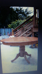 Oval dinning table  for 6 people