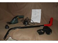 For Sale Cordless Trimmer Hand Tool with extension pole, rechargable battery, unused gift. £15