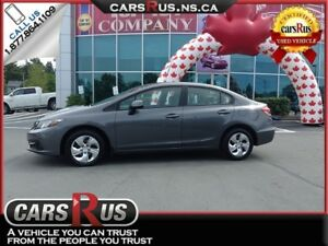 2013 Honda Civic LX Was $13,995 Now $11,995!